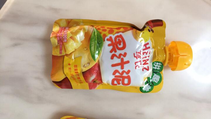 亨氏 (Heinz) 4段 婴幼儿辅食 宝宝零食 苹果黑加仑乐维滋婴儿辅食水果泥 120g(1-3岁适用) 晒单图