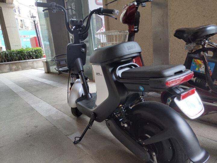 新日(Sunra)电动车电摩新国标锂电代步车自行车可提取充电轻便电瓶车 48V12AH锂电/亮红 晒单图