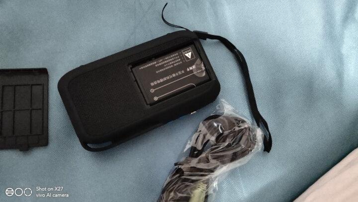 不见不散(See me here) LV390 插卡收音机老人随身听 老年便携式mp3播放器迷你小音箱  水晶绿 晒单图