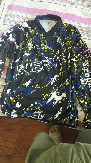 NERVE越野摩托车赛车服套装 夏季透气骑士骑行服T恤衣服裤子男女 本田红上衣 S 晒单图
