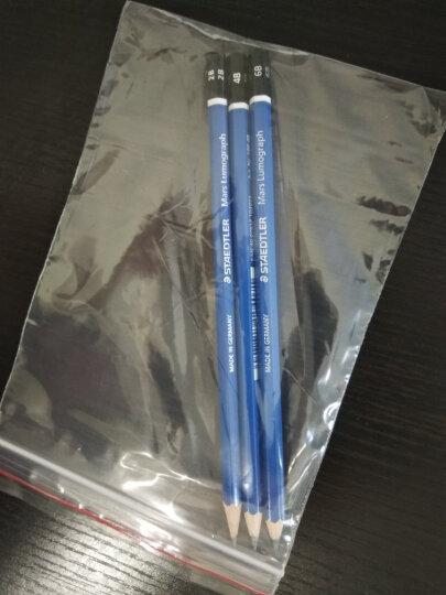 施德楼(Staedtler)素描铅笔100蓝杆专业绘画绘图学生速写笔速炭笔 6B单支装 晒单图