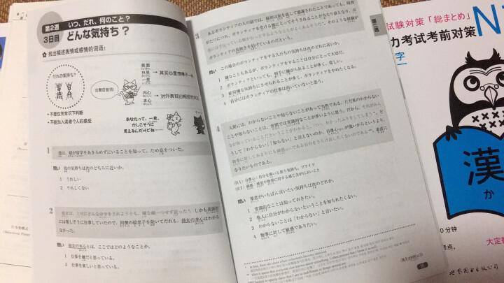 N1汉字:新日语能力考试考前对策 晒单图
