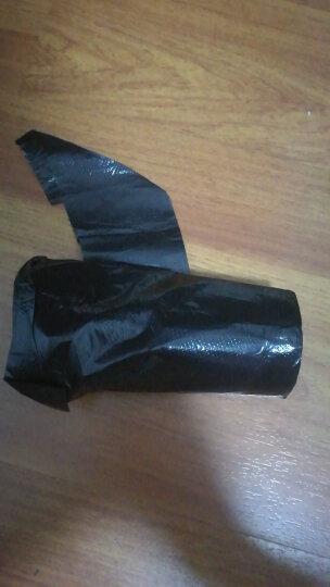 利得背心式手提垃圾袋加厚100只 50cm*60cm黑色 垃圾分类 晒单图