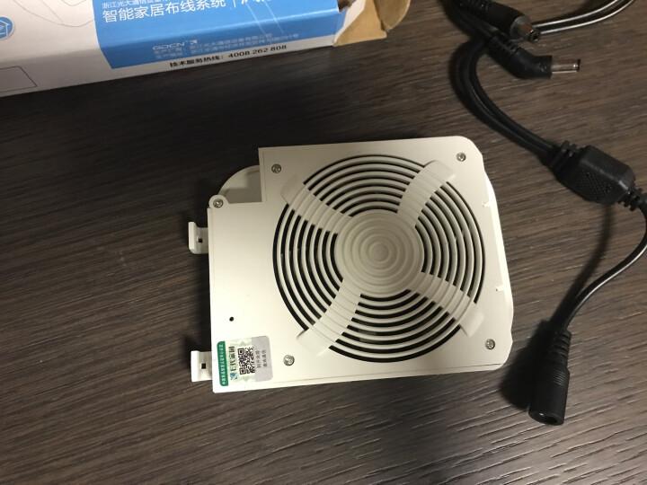 e代家园/光大智能散热风扇GDC-F8S/光大路由器交换机模块伴侣/家用弱电箱 晒单图