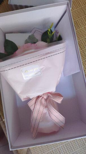 初朵保鲜花速递11朵红色香皂玫瑰花康乃馨礼盒同城三八妇女节女神节礼物康乃馨生日纪念日礼物送女生送女友 晒单图