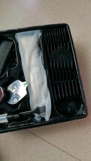雷瓦(RIWA) 理发器电推剪  专业电动儿童成人复古油头电推剪 婴儿剃头电推子 (三刀头) X4 晒单图