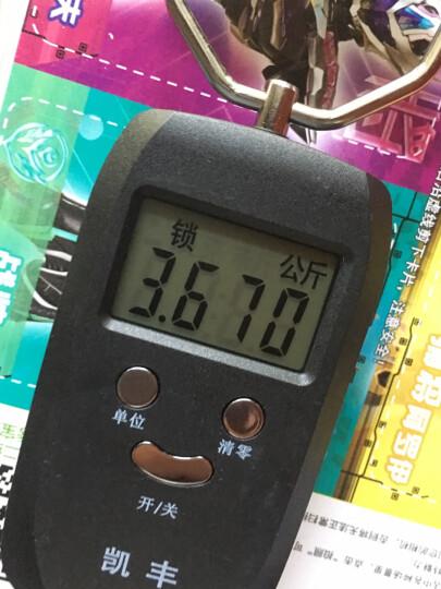 凯丰 (KF)便携式手提秤50kg电子称 行李秤 快递秤弹簧秤电子秤精准克称厨房秤 【充电款】草木绿豪华款双精度/有护手环+送电源线 晒单图