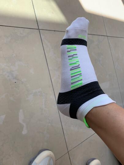 INTERIGHT 女士 排汗防臭 保护脚踝 跑步健身必备 短筒运动袜 3色3双盒装 晒单图