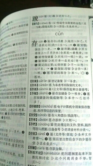 现代汉语规范词典(第3版 缩印本) 晒单图