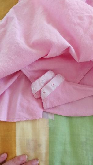 艾舞戈儿童舞蹈服秋冬长袖女童芭蕾舞裙练功服幼儿表演棉裙考级舞蹈服 粉色-长袖-开裆-后背蝴蝶 130码 (身高130-140cm) 晒单图