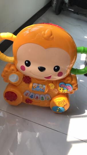 澳贝 (AUBY)小猴学步车 学步踏行二合一可调速趣味游戏 463329DS 晒单图