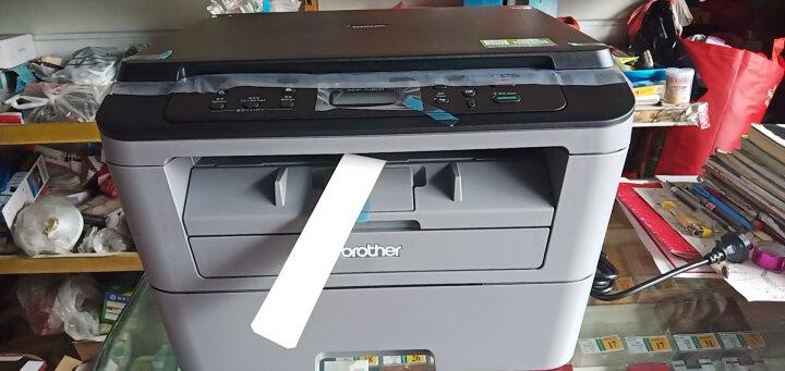 兄弟(brother)DCP-7080D 黑白激光多功能一体机(打印、复印、扫描、自动双面) 晒单图