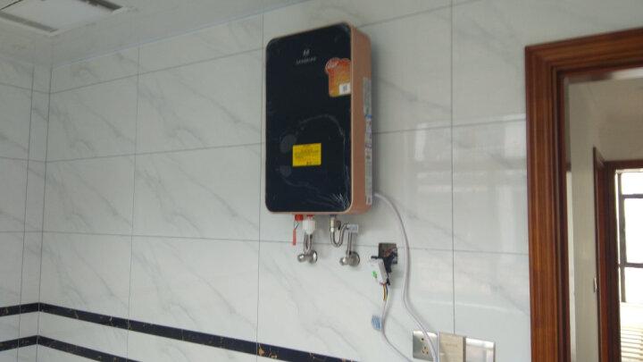 沐克(MOKER) 沐克热水器 电热水器16升浴缸供水全自动智能恒温 A8/16L/7KW/黑色 晒单图