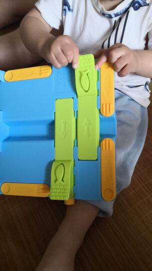 绍泽文化 儿童多功能可折叠阅读架 小学生读书架/书夹/课本支架 蓝色 晒单图