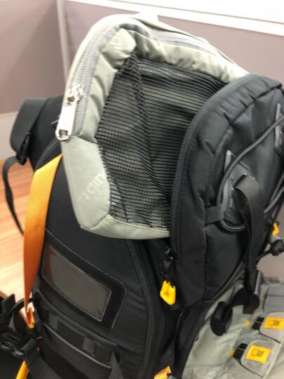 安诺格尔(ainogirl) 摄影背包单反包双肩户外相机包 专业电脑/男女单反相机包 A2016酷黑色三代+单肩包 晒单图