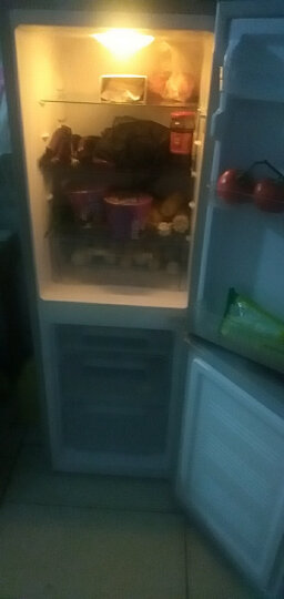 康佳(KONKA)170升 双门小冰箱 小型电冰箱 金属面板 静音 家用两门  寝室用电冰箱冰箱 (银色)BCD-170TA 晒单图