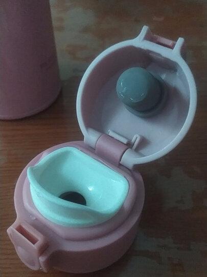 富光GZ1002 WFZ1013-350-500保温杯盖子水瓶通用杯头配件 C款玫红色杯盖 晒单图