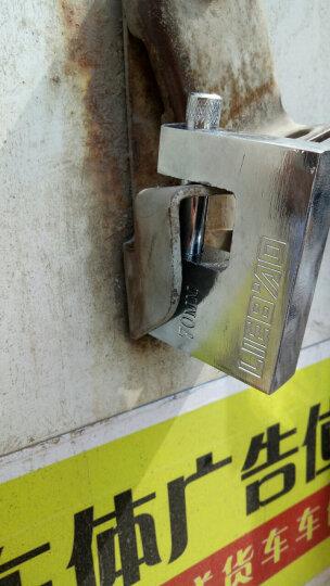 KOB 矩形横开挂锁 护梁防剪锁 仓库挂锁 横开推杆锁 防水防锈 不通开 70mm规格 晒单图