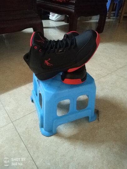 乔丹篮球鞋男鞋aj1詹姆斯15欧文5新款运动球鞋飞人高帮防滑耐磨战靴科比12罗斯9毒液 黑灰 40 晒单图