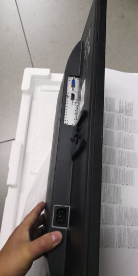 惠普(HP)24W 23.8英寸 显示器 微边框IPS 自营 低蓝光 电脑显示器(带HDMI线) 晒单图
