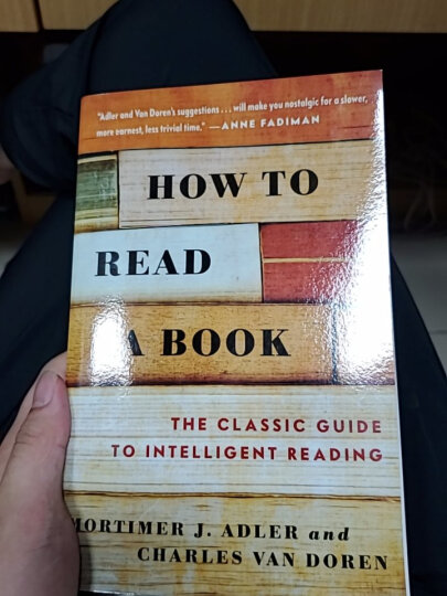 现货 英文原版 How to Read a Book如何阅读一本书 莫提默艾德勒 晒单图