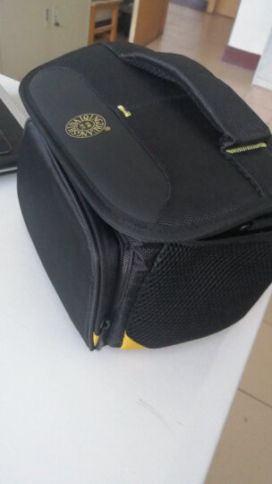 轻装时代Q998相机包单肩 佳能尼康索尼微单反数码照相机镜头配件摄影斜跨内胆防震小背包 黑色 晒单图