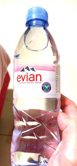 法国原装进口 evian依云矿泉水 玻璃瓶 330ml*20瓶 整箱装 晒单图