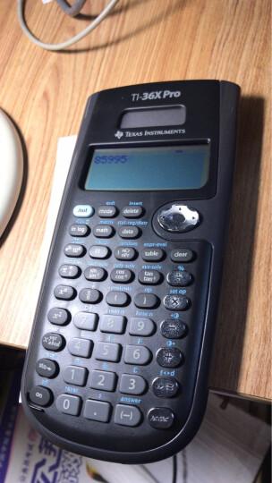 德州仪器(Texas Instruments) TI-36X PRO 科学计算器 晒单图