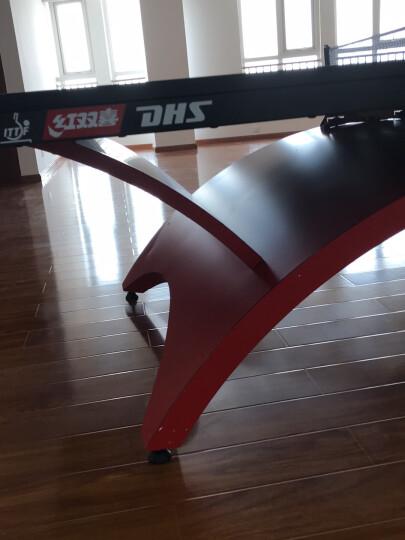 红双喜(DHS)金彩虹比赛赛事乒乓球桌专业球台TCH-G LED灯(高档网架、乒拍、乒球) 晒单图