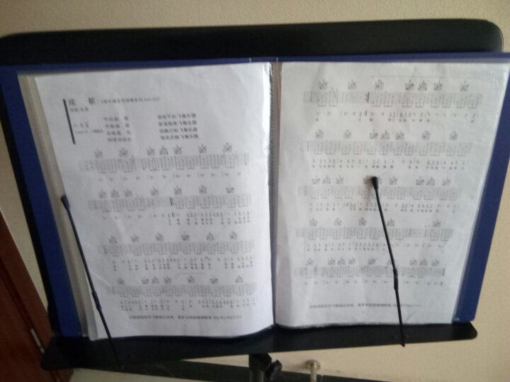圣玛赫(SUMACH)专业升降大谱架 通用加粗可升降曲琴谱架吉他小提琴乐谱架古筝二胡乐谱台 晒单图