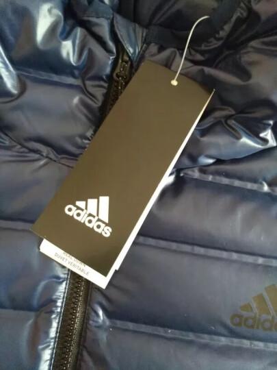 adidas阿迪达斯男子羽绒服保暖休闲运动服BS1588 BQ7785蓝色 2XL 晒单图