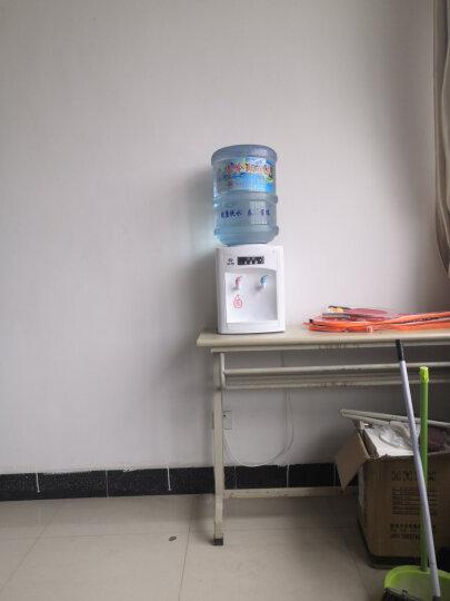 沃牧(/)饮水机家用冷热型桌面饮水机冰台式宿舍小型迷你节能特价温热饮水器 白色饮水机【冰热款】 晒单图