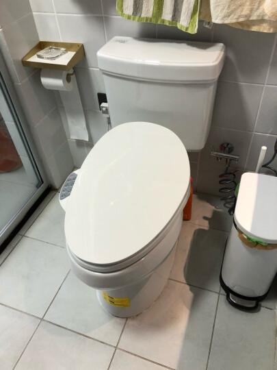 科勒智能马桶盖清舒宝缓降自动洁身器冲洗器K-18659T K-18659(暖风温度5级可调) 晒单图