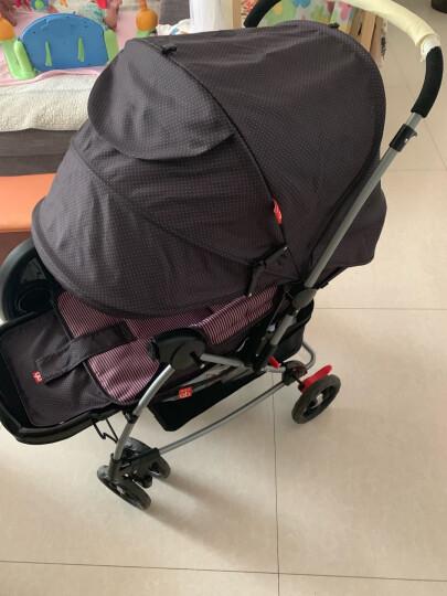 gb好孩子 婴儿推车 宝宝 儿童 手推伞车 可坐可躺 轻便折叠 双向推行 蓝色 A513-B-L148 晒单图