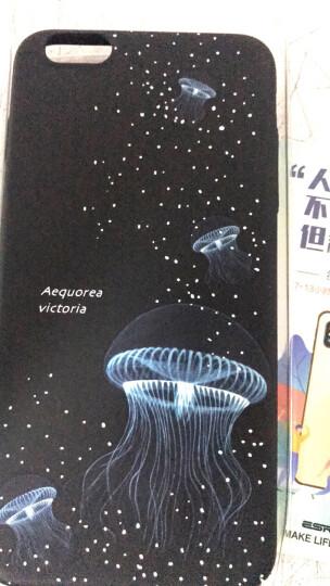 插画师 iPhone6/6s手机壳/保护套防摔 苹果6s手机壳卡通全包创意个性夜光硬壳潮男网红女款六-发光水母 晒单图
