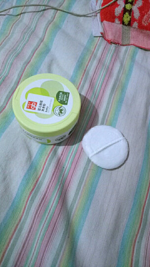gb好孩子 婴儿玉米爽身粉 宝宝 儿童 护肤 不含滑石粉(橄榄系列)140g 盒装 晒单图