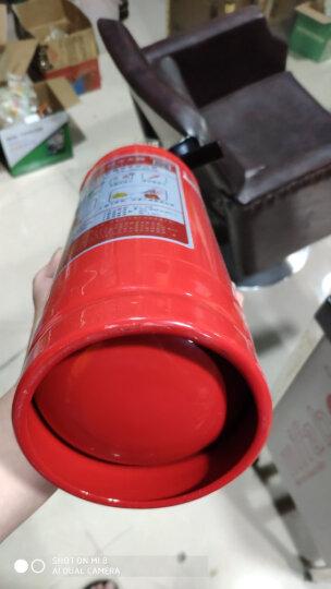 神龙 灭火器 干粉灭火器4公斤 车载家用及商用灭火器4kg MFZ/ABC4 消防器材 晒单图