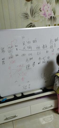 AUCS 白板写字板挂式120*60cm 办公会议磁性悬挂墙教学黑板看板 QUR1260L 晒单图