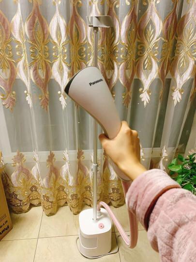 松下(Panasonic)挂烫机 家用熨斗 手持蒸汽挂烫机 1800W双重蒸汽模式 NI-GSE050-PR 粉色 晒单图