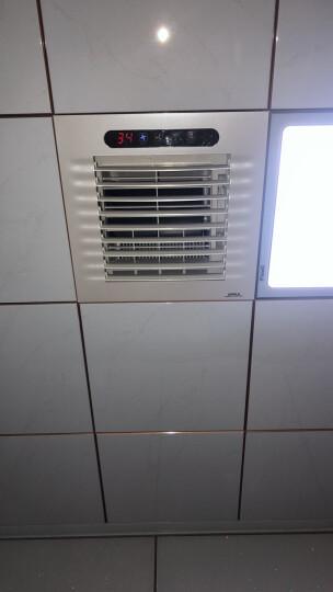 OPPLE 集成吊顶凉霸厨房卫生间电吹冷风扇冷霸冷风机厨卫换气扇 【升级负离子】强劲吹风 超静音-白色款 晒单图