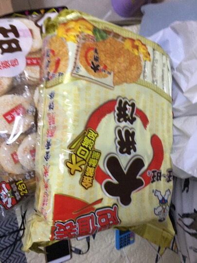旺旺 大米饼 香脆米饼 膨化食品 零食 饼干糕点 原味 1000g 晒单图