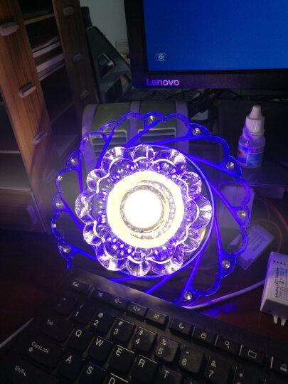 世尊 LED过道灯走廊灯玄关灯门厅灯飘窗灯 客厅led射灯筒灯天花灯 LED5W调光暖光+彩光 明装(不需要开孔) 晒单图