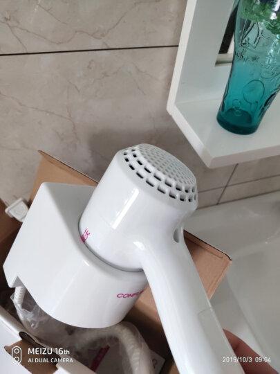 康夫(CONFU)电吹风机 KF-3056 挂壁式电吹风机 酒店吹风筒(白色) 晒单图