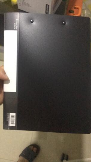 得力(deli)双电源时尚计算器 轻薄机身平板按键桌面计算机 办公用品 黑色1589P 晒单图