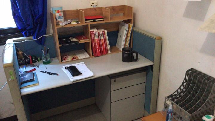 家乐铭品 桌面书架 电脑桌架层架0.82M加大加固桌上格子架收纳架简易办公置物架学生小书架子储物架 ZC2510 晒单图