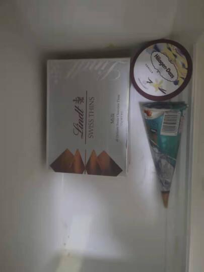 lindt瑞士莲进口经典薄片黑125克+牛奶巧克力125克(共2盒)礼盒装 休闲零食品 经典牛奶125g+经典黑125g 晒单图