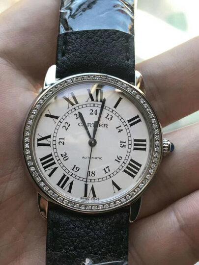 【二手99新】卡地亚 手表 solo 系列 后镶钻  36mm自动机械 男士 腕表WSRN0013  晒单图