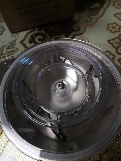 【限量抢刀头】奥克斯(AUX)绞肉机家用电动不锈钢搅拌机切蒜蓉机肉馅机辅食料理机MG5302A 晒单图