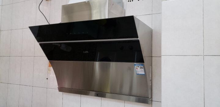 华帝(VATTI)大吸力 高频自动洗 侧吸式抽油烟机灶具消毒柜三件套(天然气) CXW-238-i11083 晒单图