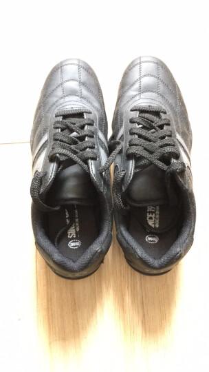 双星足球鞋男女成人儿童足球鞋碎钉 9011 宝兰 37 晒单图